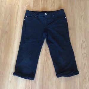 Justice Girl's/Youth Capri Premium Jeans Plus Sz